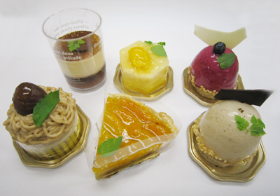 ピアフのケーキ